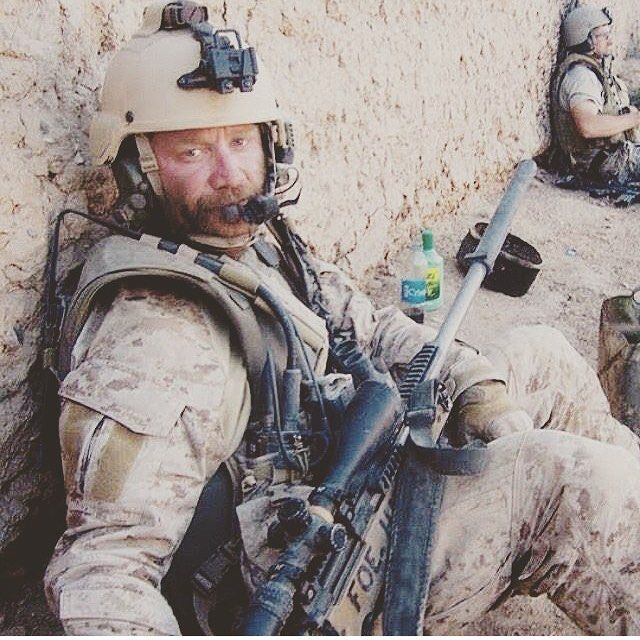 U.S. Navy SEAL sniper in Afghanistan #FoeHammer PC: @mp7a1