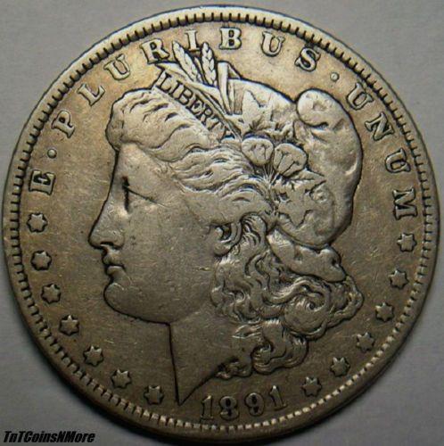 1891-Morgan-Dollar-90-Silver-Your-Grade-Value-Very-Nice-Coin My favorite old coin
