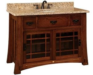 48 Best Images About Amish Bathroom Vanities On Pinterest