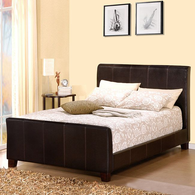 bring a whole new life to your bedroom with this king size dark brown sleigh bed - New Bed Frame
