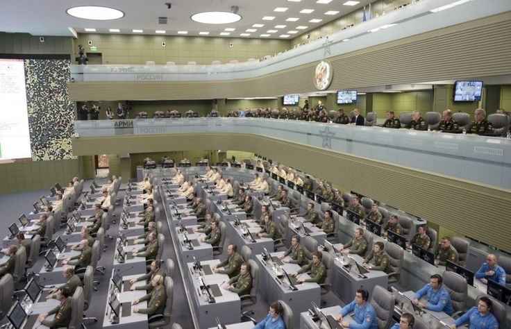 Vladimir Putin's massive, triple-decker war room revealed - The Washington Post