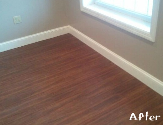 Vinyl wood look floors are as durable as commercial grade for Commercial grade flooring options