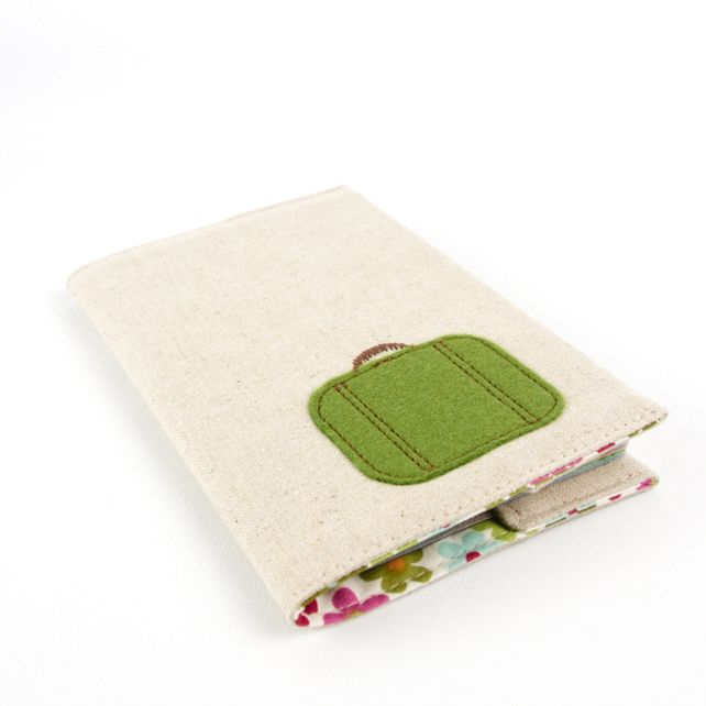 Green Suitcase Passport Cover £14.00