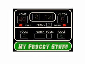 My Froggy Stuff: Make a Doll Basketball Court! Free ...