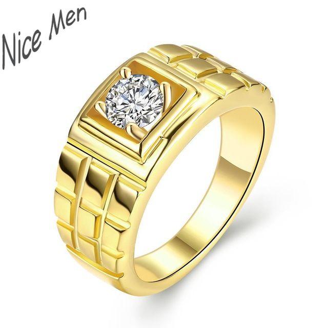 2016 человек ювелирные изделия R122 высокое качество никель противоаллергическое новинка ювелирные изделия 24 К роза белая золотой циркон кольцо
