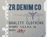 ZR MAN AUTUMN-WINTER LABEL AND TAG by Öznur Çakal Demirhan, via Behance