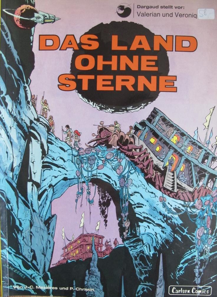 Valerian und Veronique, Bd.3, Das Land ohne Sterne, german Edition, published 1972