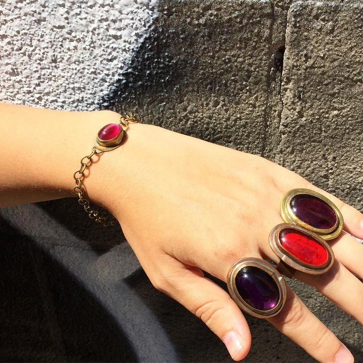Rafael Canada rings and bracelet.