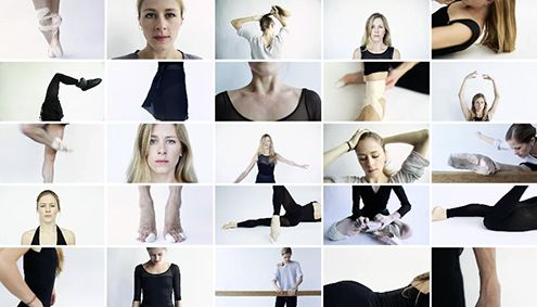 So fun and beautiful. Short video clips of Heather Ogden, ballerina with the National Ballet of Canada