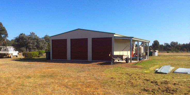 COLOURBOND 3 Bay Shed in Yarrawonga VIC