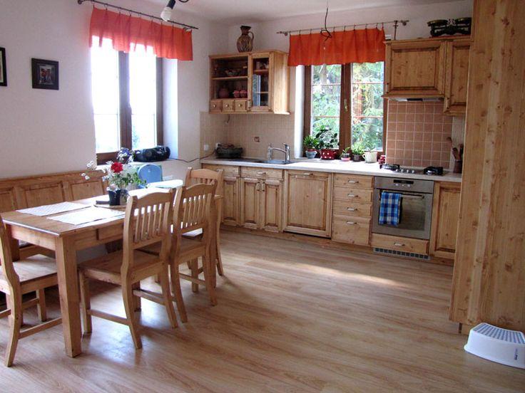 Kuchyně na míru do rodinného domu