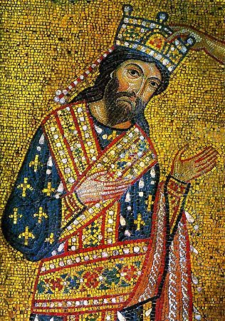 Byzantine Mosaic Artists | ... Byzantine art including Icons, jewelry, Greek clothing, liturgical