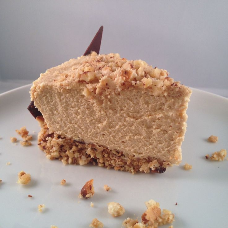 Gâteau mousse au dulcey chocolat Valrhona et noisettes