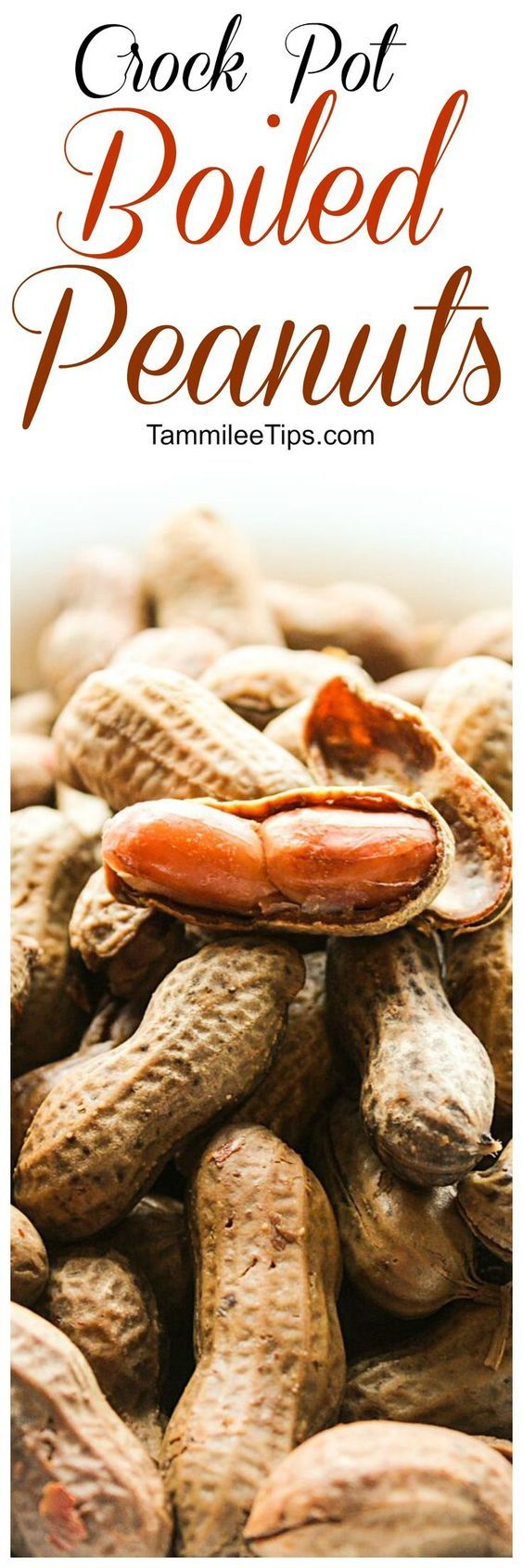 How to make Spicy Crock Pot Cajun Boiled Peanuts Recipe! This Southern slow cooker recipe is super easy to make and tastes amazing!