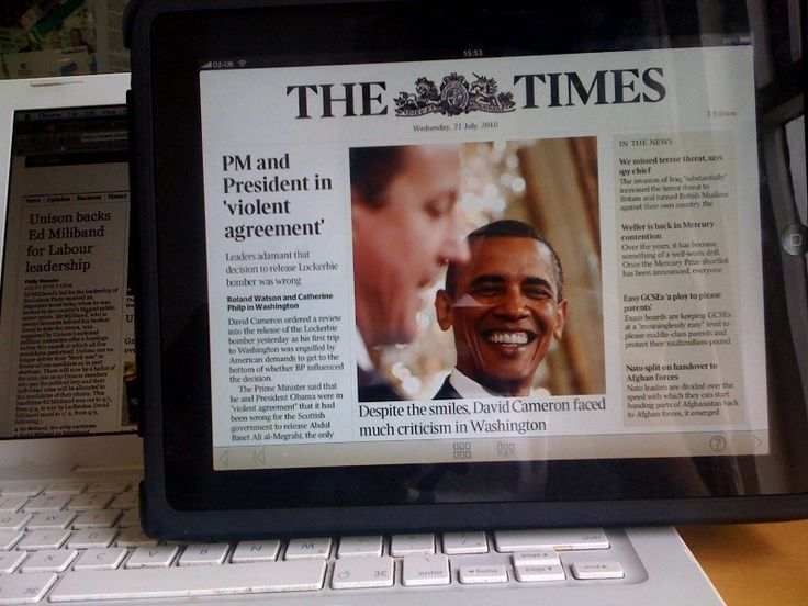 Dec 6, 2012 - 5:19AM  Interview: How News Corp's Times will use cheap tablets to sell content