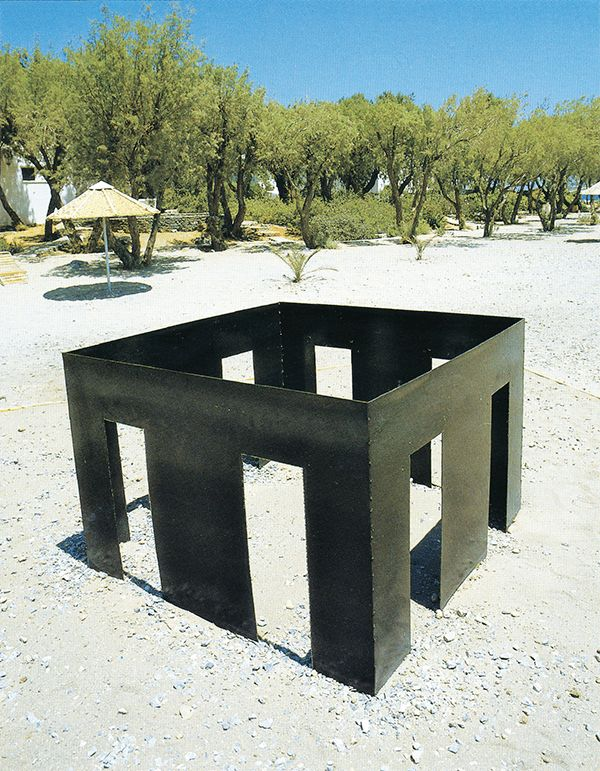 """NICOS ALEXIOU, """"Sun room"""", 1990"""