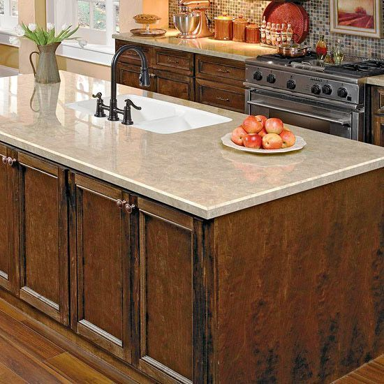 Four Ways to Get the Look of Granite Countertops - Today's granite-look countertop options have come a long way in just a few years, and it's easier than ever to get the look you want for less. Here are four ways to get the look of granite without the cost.