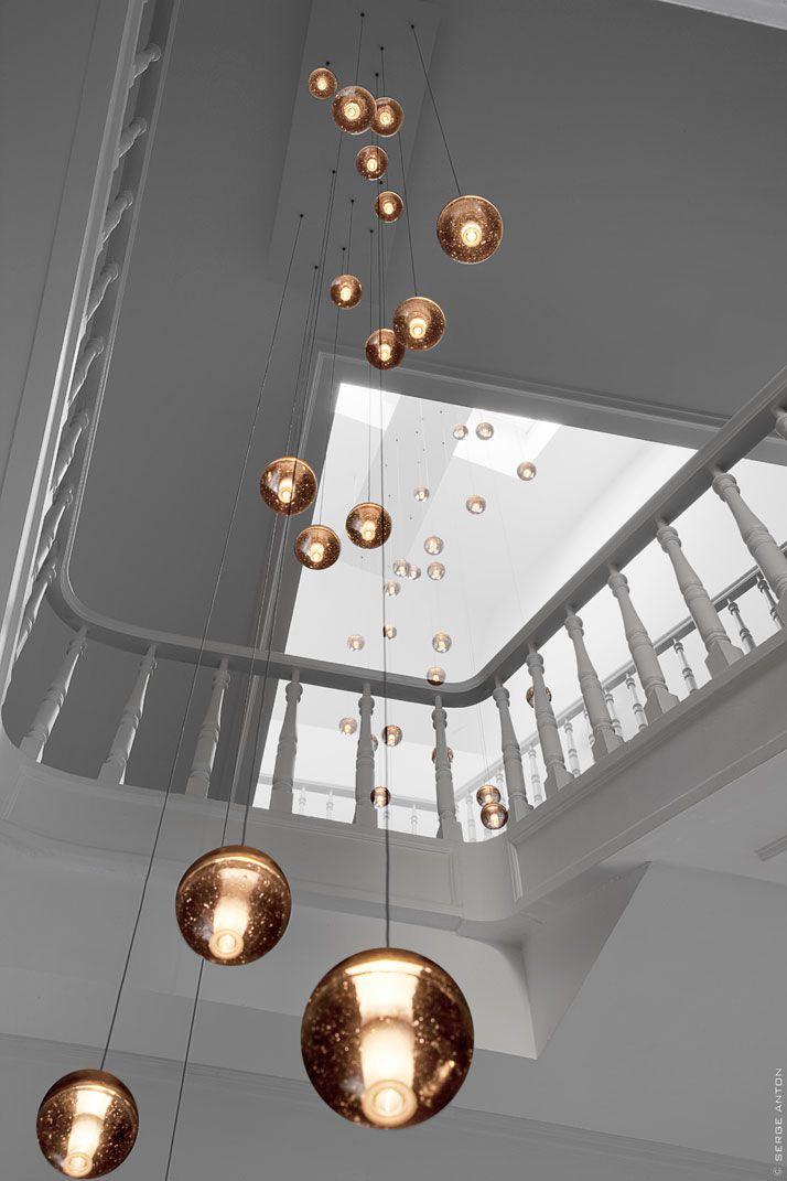 The Tenbosch House: Lamps, Art Nouveau, Lighting Idea, Lighting Design, Interiors Design, Lighting Fixtures, Lighting Installations, Trav'Lin Lighting, House