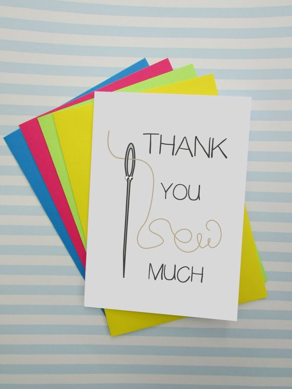 Funny Thank You Card  Puns  Alternative Thank You Card  by cushobi
