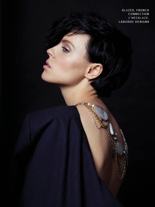 #KENTON #magazine #editorial Photographer: Max Kopanygin Fashion styling: Kirsten Reader, Judy Inc. Models: Adrien and Daphne