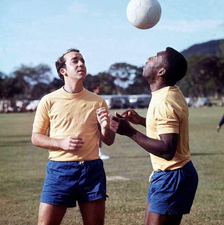 Tostão and  Pelé