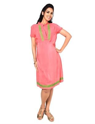 NIne Maternity Smart Dress With Embroidery Detail Suits for casual meeting with friends or a brunch!! Check Now at www.ninematernitywear.com, shipping across the globe! #maternitywear #nine #pregnancywear #pregnancystyle #maternity #clothes #blouses #dresses #womensfashion #fashionable #trendy #stylish #maternity #wear #maxi