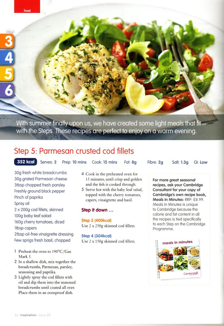 Cambridge Diet Day 1 | Step 1 | It's Time – Recipe Hen