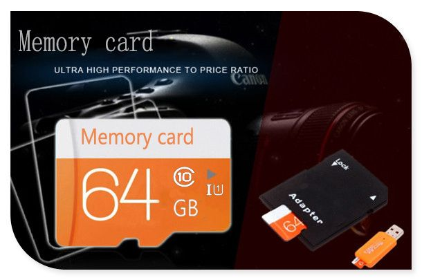 Hot sale micro tf card  memory stick mini card Class 10 TF card  for cell phone New arrival with card reader T4