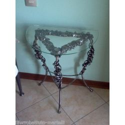 Bedside Table Wrought Iron. Customize Realizations. 874