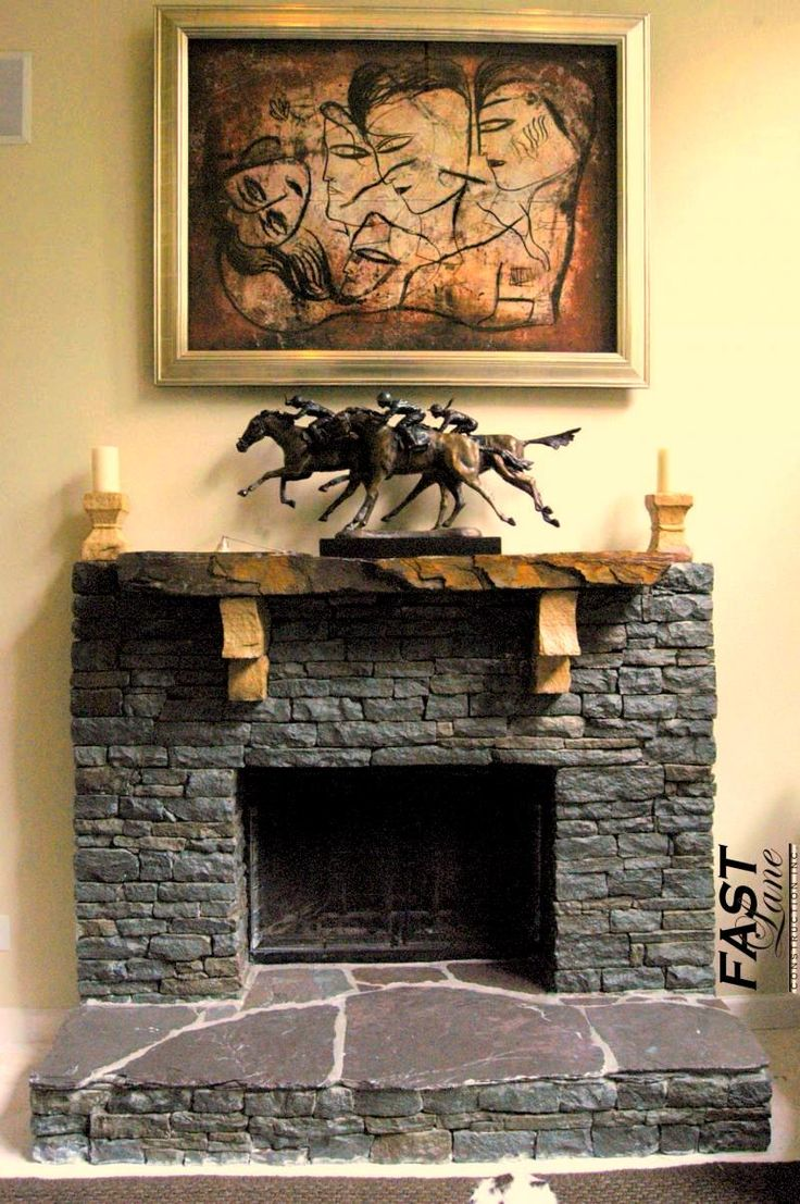 Stacked Stone Fireplace Surround 9 best images about home on pinterest | carpets, stone fireplaces