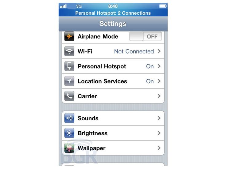 iOS 4.3 to bring Personal Hotspot to all iPhones | Yesterday's Verizon iPhone launch wasn't particularly exciting for the rest of the world, but one glimmer of interest has emerged: Personal Hotspot functionality may be coming to all iPhones in the next iOS update. Buying advice from the leading technology site