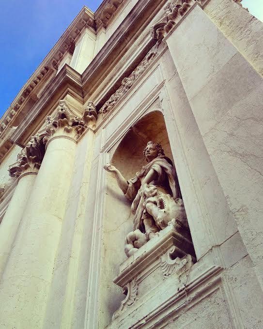 Statua di San Teodoro, Chiesa di San Tomà, #venezia