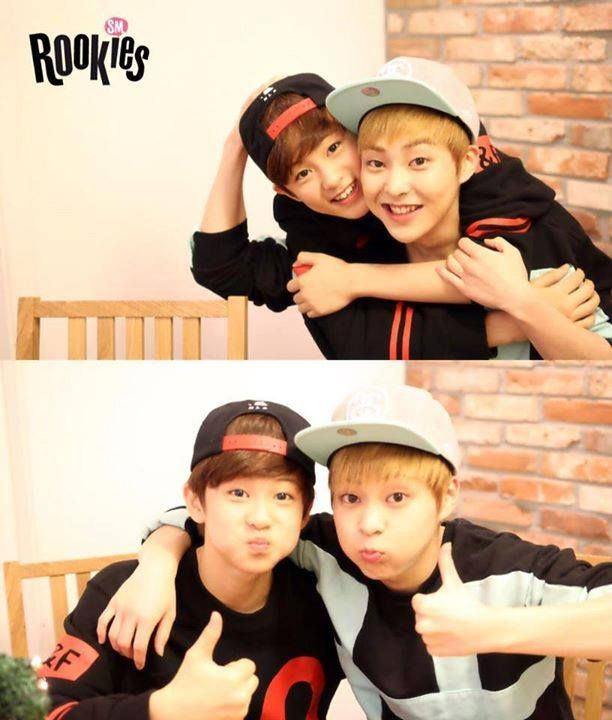 Xiu Min and  Mark (SMROOKIES)