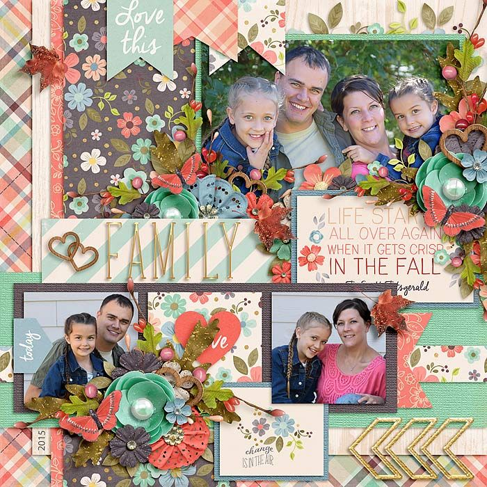1512 best images about Family Scrapbooking on Pinterest ...