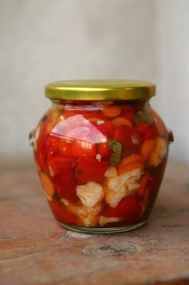 Царска туршия, Special and delicious homemade bulgarian pickle
