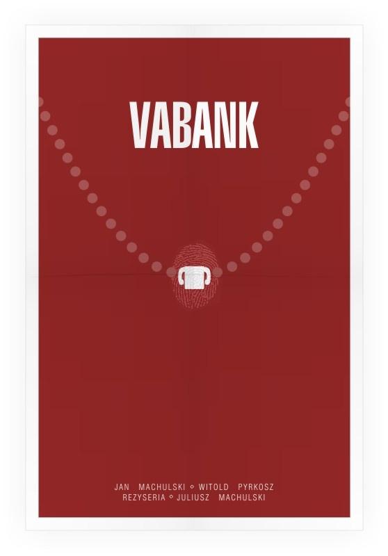 Plakat do filmu Vabank
