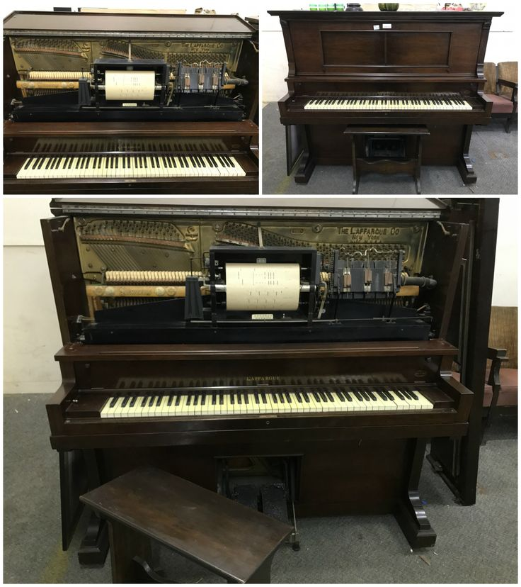 Absolutely stunning Pianola in this week's Super Sunday here: https://goo.gl/VfPNNq?utm_content=buffer0cb1a&utm_medium=social&utm_source=pinterest.com&utm_campaign=buffer Beautifully maintained and estimated to be from around 1909. Made by one of the finest piano manufacturers in America this makes for an amazing addition to the home, coming with 14 song pages it is also guaranteed to entertain.  Use the link above to veiw more details and see bidding options.