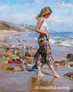 A walk on the beach - MICHAEL & INESSA GARMASH — Michaell and Inessa Garmash have created beautiful paintings, stained-glass windows, mosaics and drawings exhibited all over Europe. Description from pinterest.com. I searched for this on bing.com/images