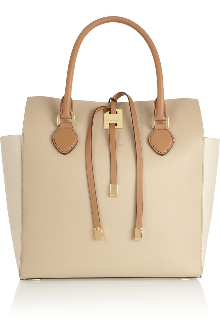Michael Kors | Miranda large color-block leather tote | NET-A-PORTER.COM