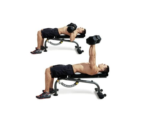 Men's Fitness:  The Best Full Gym Chest Workout