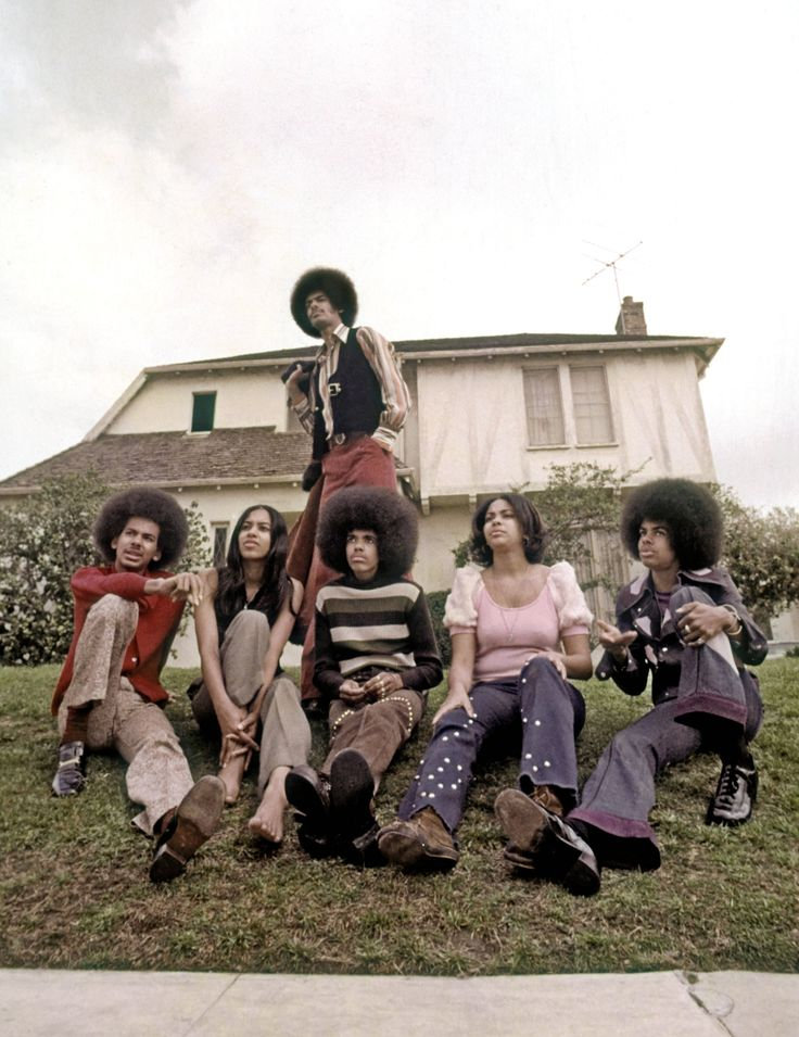 The Sylvers..holy shit those afros!