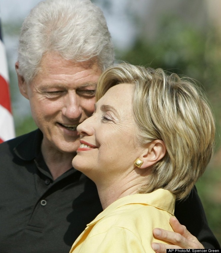 Bill and Hillary Clinton - Both warriors, thinkers, activists in their own ways
