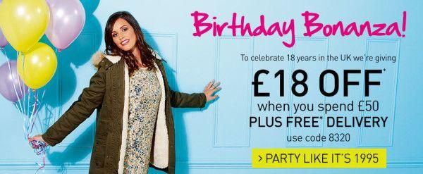 Happy Birthday http://laredoute.co.uk! Code 8320 - 18 OFF! http://code-reduction-la-redoute.com/novembre-2013/