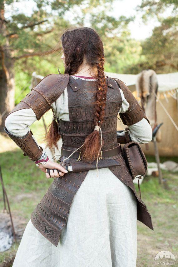 "20% DISCOUNT! Medieval Women's Armor ""Shieldmaiden""; Viking Armor; Women's…"