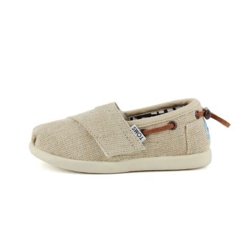 Shop for Toddler TOMS Bimini Casual Shoe in Natural at Journeys Kidz. Shop today for the hottest brands in mens shoes and womens shoes at JourneysKidz.com.Resembling the TOMS Classic Slip-On, the boat-shoe-inspired Bimini features a burlap upper, hook and loop strap for easy on-off, suede cushioned insole, and protective outsole.