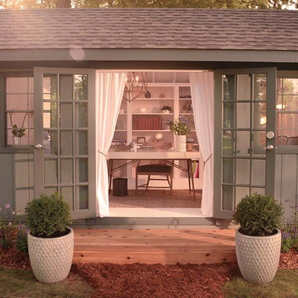 Never heard of a she shed? It's sort of like a man cave, but totally different. The idea is simple. Take an old shed and transform it into an oasis of relaxation and rejuvenation—a place where women can leave stress and responsibility at the door, if only for a few hours. She sheds are a relatively new idea, so we decided to make one. Here's how it went, along with six ways we incorporated tech into the mix.