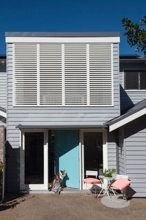 A northern beaches house. Totally green, natural ventilation, solar.