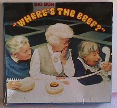 where's the beef #80s