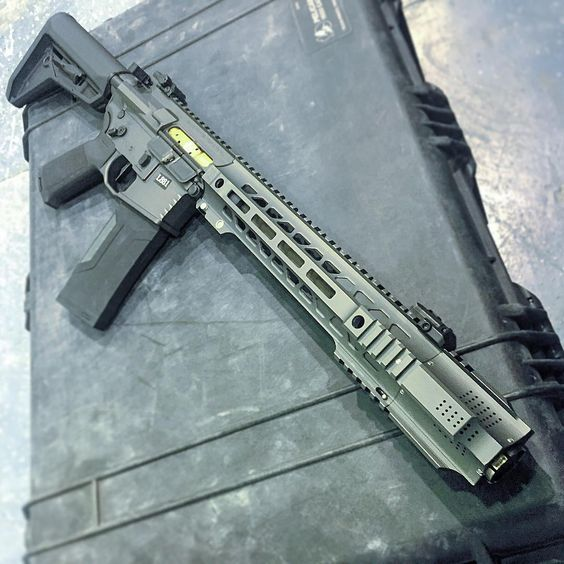 "citizenmilitia: "" Salient Arms International GRY (AR15) SBR in .223 Wylde """
