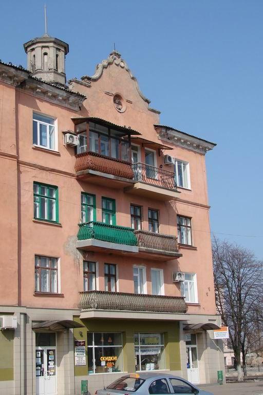 дом по пр.Победы возле к-та Украина